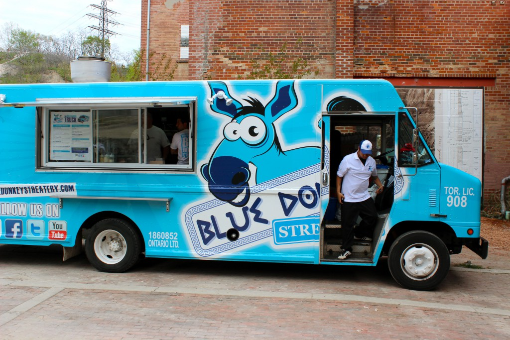 Blue Donkey Streatery Toronto Food Trucks Toronto Food Trucks