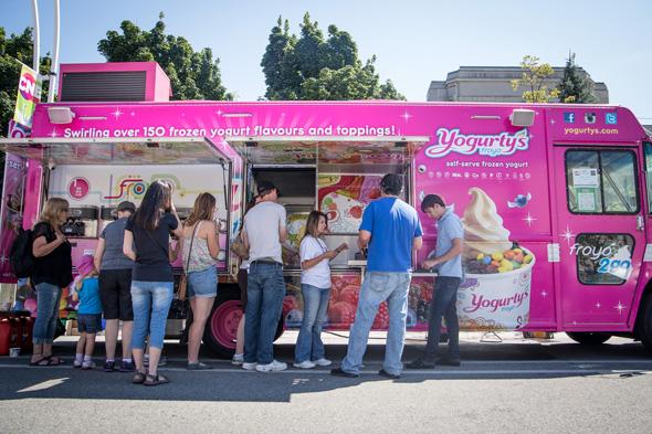 Yogurty's brings froyo to the streets of Toronto - Toronto Food Trucks