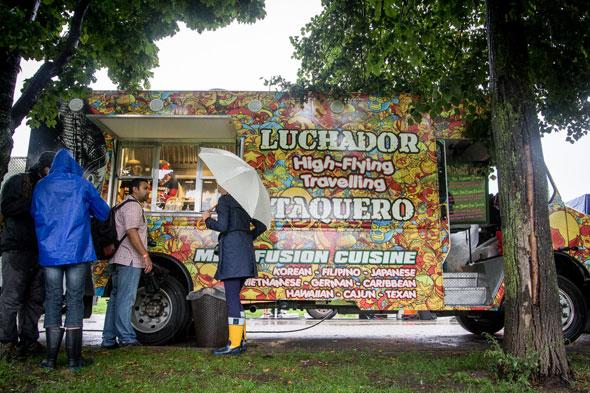 Luchador Food Truck