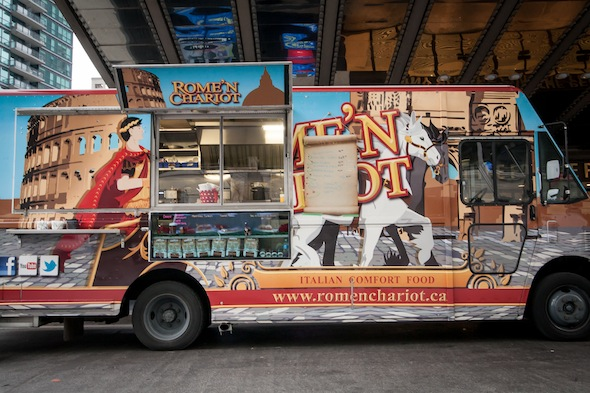 Food truck lunches at sony centre oct toronto
