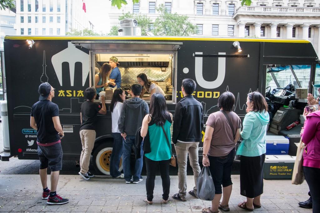 MENU food truck Toronto