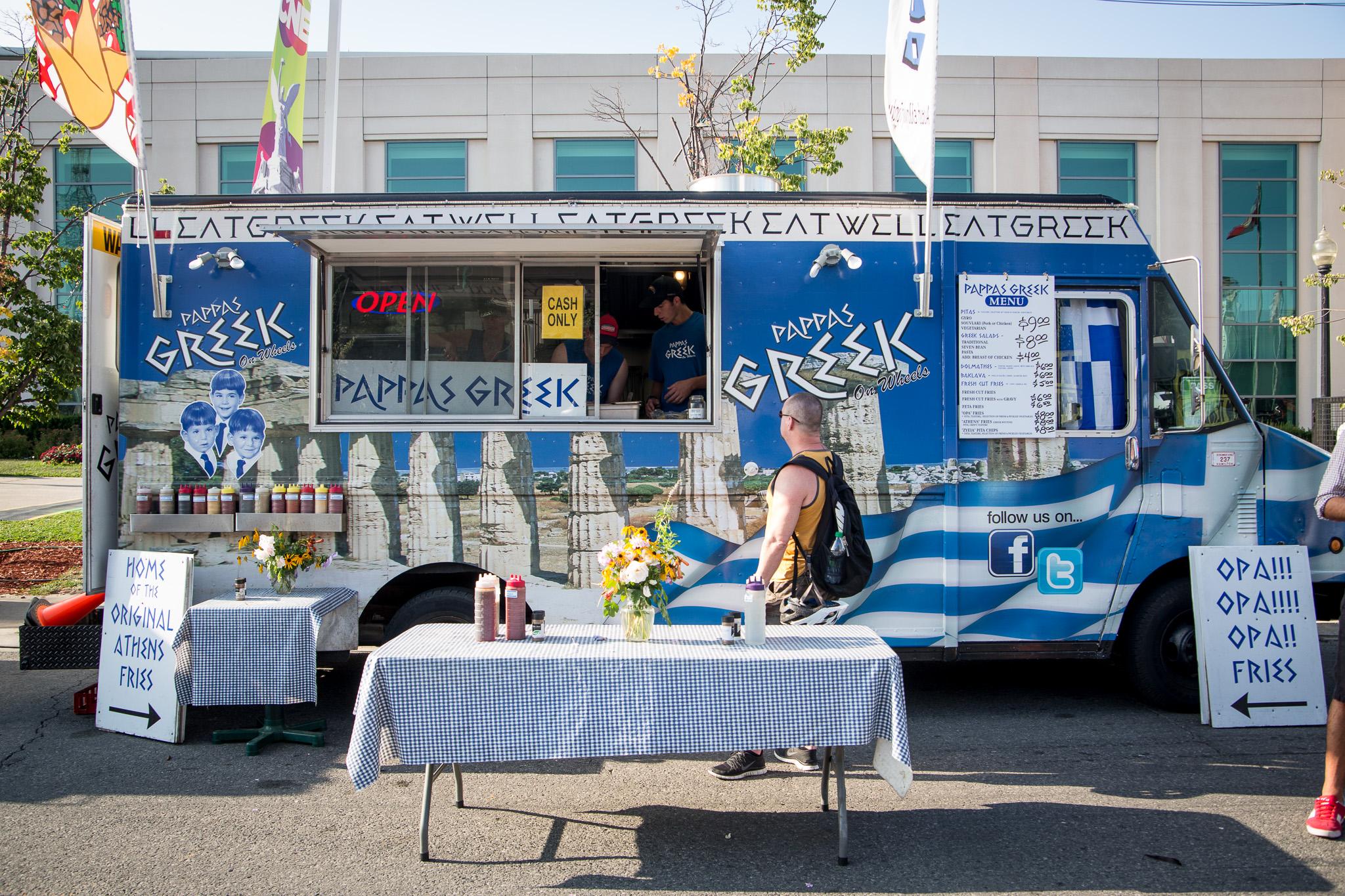 Food Trucks At Car Meets
