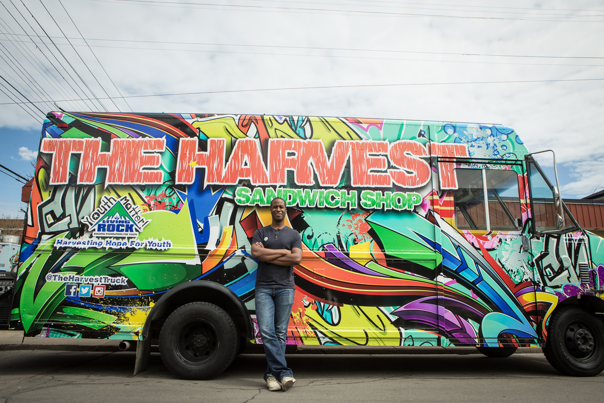 the harvest food truck
