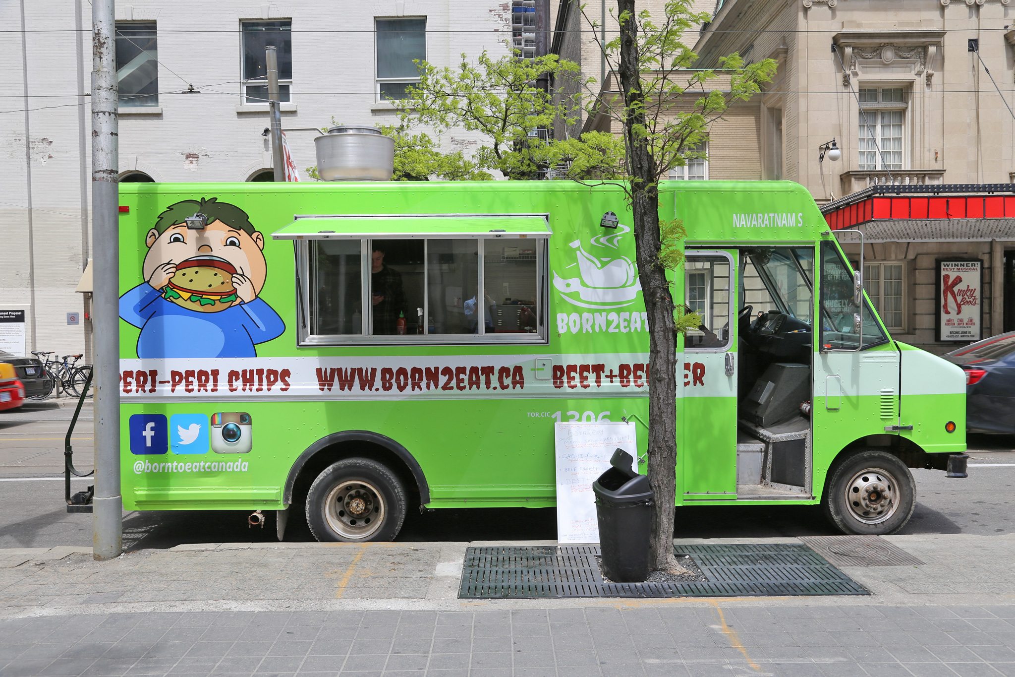 Born2Eat Is A Toronto Based Food Truck Bring Serving Up Classic Dishes Like Hamburgers And Hot Dogs Menu Items Include Their Infamous Beet Beef Burger