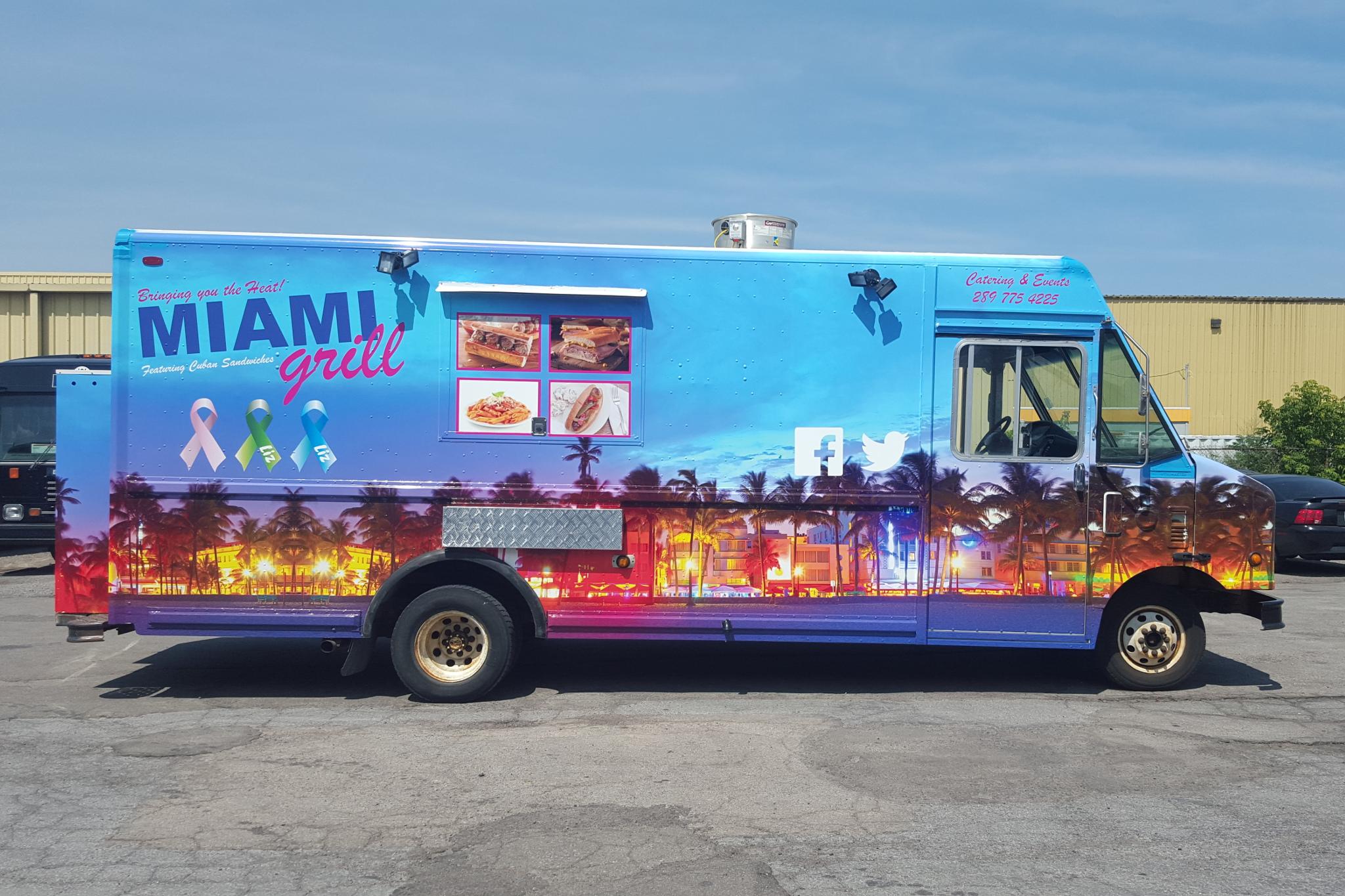 Grill Food Truck Menu