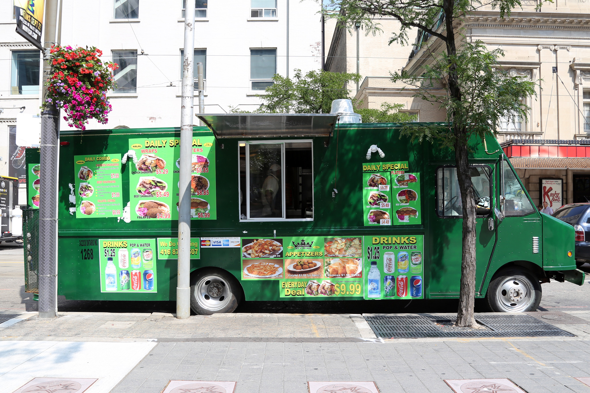 Ali 39 s wraps toronto food trucks toronto food trucks for Ali baba s middle eastern cuisine