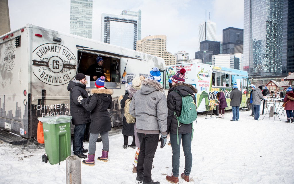 Food trucks at roundhouse winter craft beer festival for Craft beer festival toronto