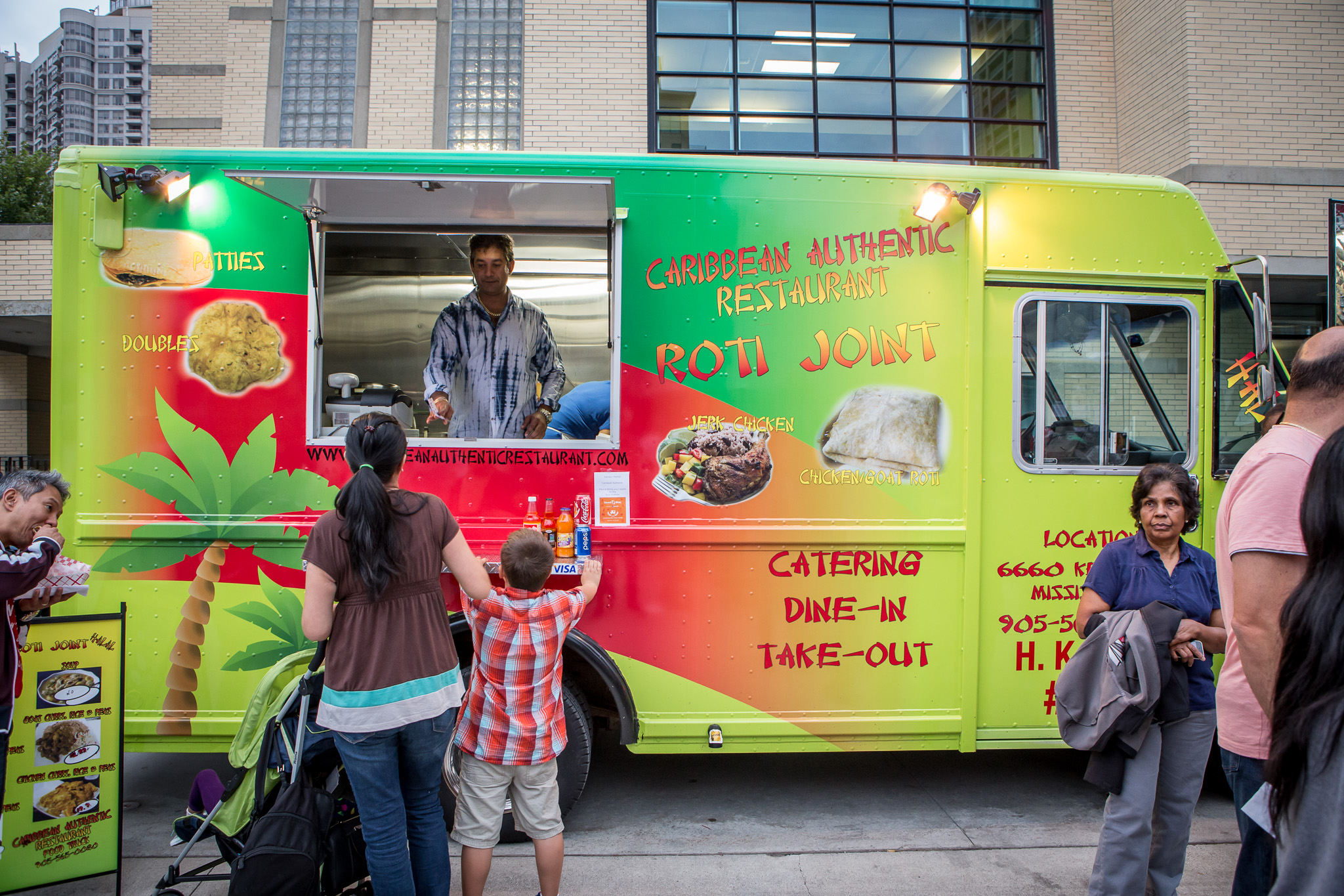 Caribbean Food Truck Toronto