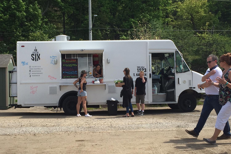 Curbside Burgers Food Truck Menu