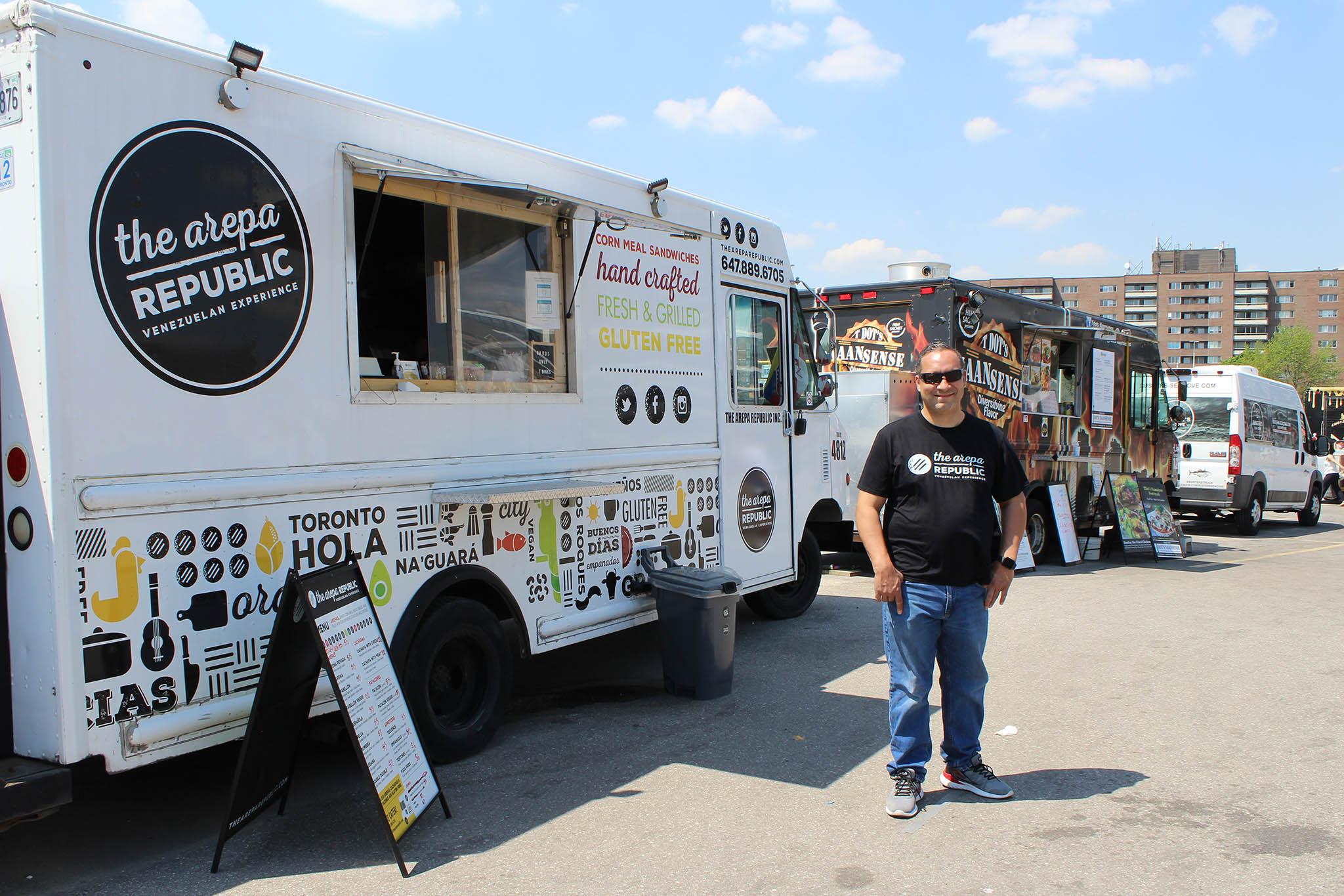 The Arepa Republic Food Truck